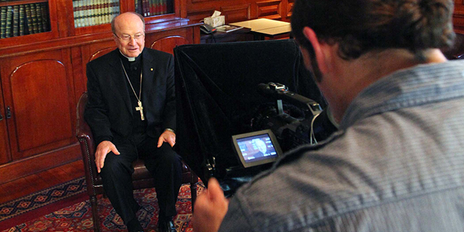 Addressing youth: Archbishop John Bathersby records his Pentecost Sunday pastoral message to young people.