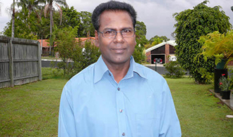 Haunted: Fr Pan Jordan says he is haunted by the death and violence inflicted on Sri Lanka.