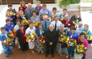 Tribute to long serving staff