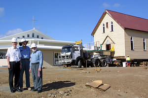 River crossing gives old church new life