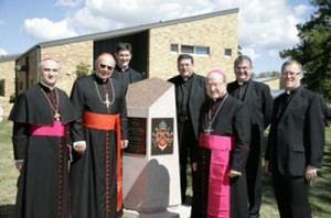 Cardinal Levada opens new Holy Spirit Seminary