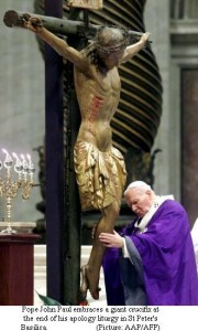Pope's historic apology