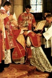 Ordinations of four to be done in old rite