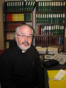 Former St Mary's priest suspended