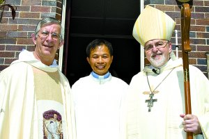Historic day for new Augustinian deacon