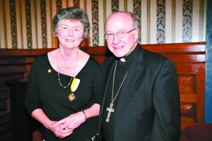 Dedicated Church worker honoured with papal award