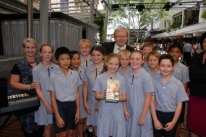 Kevin Rudd launches Project Compassion