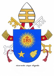 Holy See releases papal coat of arms, motto by English Doctor of the Church