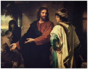 Called: Christ and the Rich Young Ruler, by Heinrich Hoffman 1889