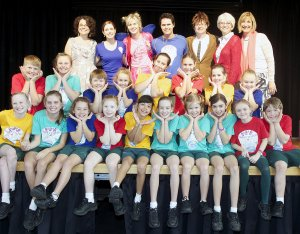 Mary Mackillop school students spreading bucket loads of love