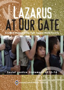 Australia's Catholic Bishop's statement Lazarus at Our Gate: A critical moment in the fight against world poverty