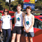 Students cover 1400km for Caritas