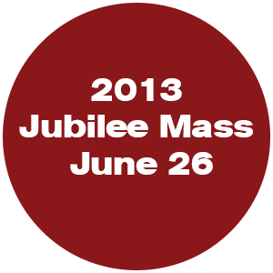 2013 Jubilee Mass - June 26