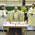 Capuchins celebrate Mass with Bishop