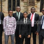 Stanley and Ladu on a Special Ordination Day