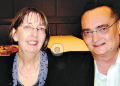 Dr Mary Walsh and her husband Dr Nicholas Tonti-Filippini