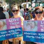 Protest anger disrupts pro-life march
