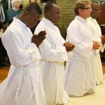 Leonard Uzuegbu, Nicholas Okafor, Martin Larsen and Chukwudi Chinaka during the ordination
