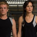 Josh Hutcherson and Jennifer Lawrence star in the movie The Hunger Games: Catching Fire.