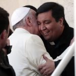 Pope meets old friend