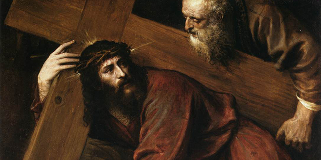 Finding Jesus: Titian's Christ Carrying the Cross.
