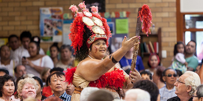 Sea of faith: There were parishioners from all cultures at Our Lady of Lourdes, Sunnybank, for the parish's first multicultural Mass of the year on Sunday, February 2.