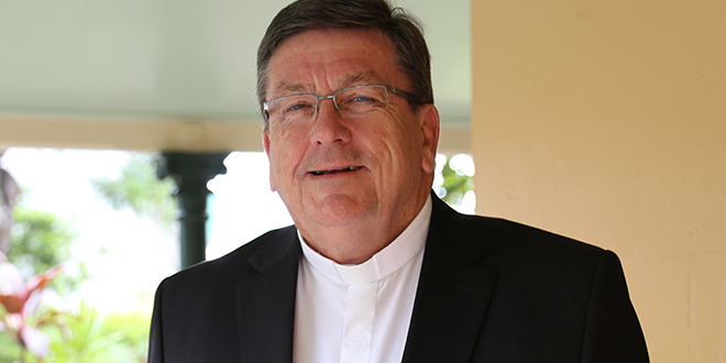 New leader: Brisbane archdiocese's vicar for clergy Fr Michael McCarthy has been chosen as the next bishop of Rockhampton.