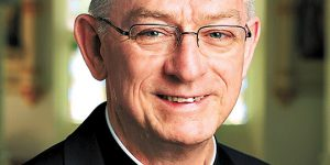 Much loved: Bishop Michael Putney.