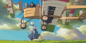 Serious themes: Animated characters appear in the movie The Wind Rises. Photo: CNS/Disney