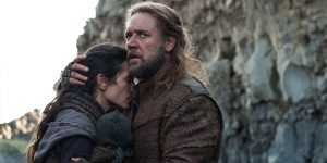 Biblical tale: Jennifer Connelly and Russell Crowe star in a scene from the movie Noah. Photo: CNS/Paramount