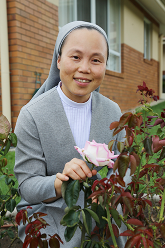 A life of faith: Sisters of St Paul de Chartres Sister Agnes Dinh. Photo: Emilie Ng