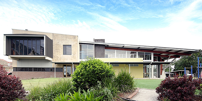 Winning look: St Patrick's Primary School's new buildings' design impressed judges from the Australian Institute of Architects.
