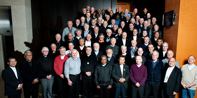 United in faith: Oceania's bishops and delegates at the Assembly of the Federation of Catholic Bishops Conferences of Oceania in Wellington from May 12 to 16.