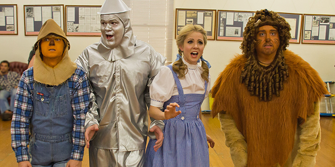 Classic show: The cast from the upcoming Queensland Musical Theatre production of The Wizard of Oz is preparing for a knockout show.