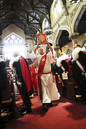 """Servants: """"In their preaching and teaching, therefore, deacons need to hand on what has been handed on by the Order of Bishops as the authentic Catholic faith."""" Photo: CNS"""