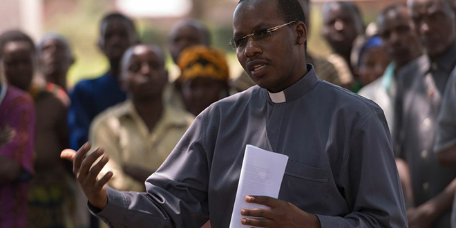 Journey to healing: Fr Emmanuel Nsengiyumva is among those leading Rwandans to forgiveness and reconciliation after the trauma of genocide.