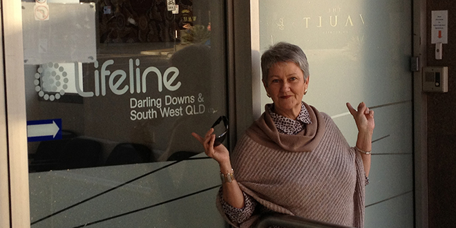 Unhappy: Jenny Goodwin is opposing the opening of the adult entertainment venue The Vault on Ruthven.