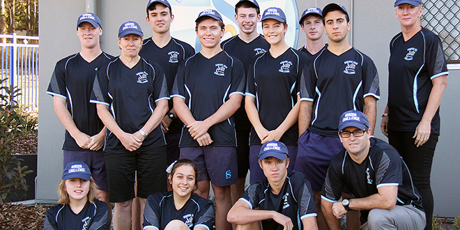 Ready for challenge: Seton students and staff who can't wait to take on the Gold Coast's 48km Jim Stillman Cup Kokoda Challenge.