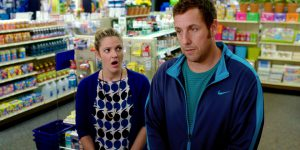 "Family matters: Drew Barrymore and Adam Sandler star in a scene from the movie ""Blended"". 								Photo: CNS/Warner Bros."