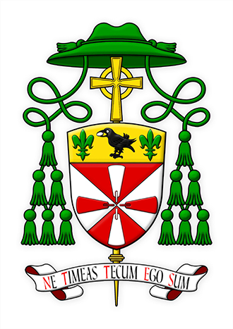New bishops' coat of arms