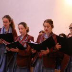 All Hallows' School music students lifted hearts with beautiful music at the Feast Day Mass for St Mary of the Cross