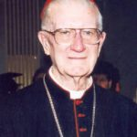 Cardinal Clancy resting in peace
