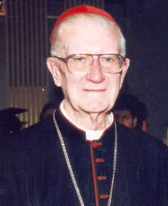 Former Archbishop of Sydney Cardinal Edward Clancy.