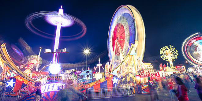 Family fun: Organisers said this year's Royal Queensland Show, or Ekka, would be the best value for money in its 138-year history.