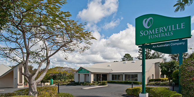 Committed to care: Somerville Funerals has an unequalled commitment to service.