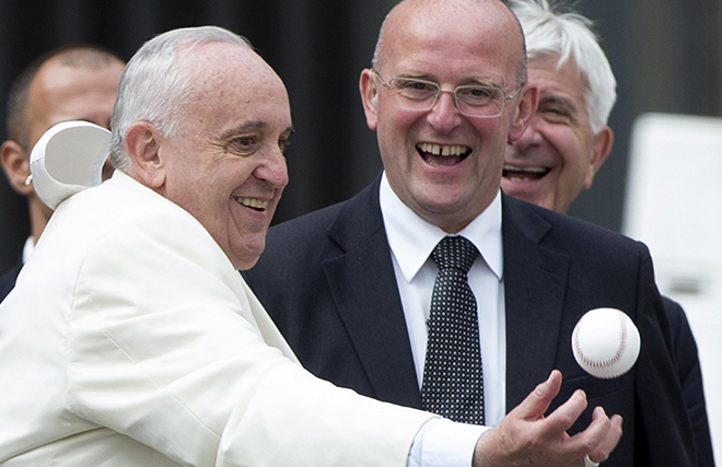Pope Francis catch