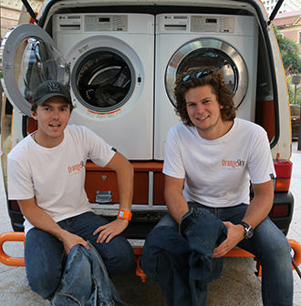 Australia's first mobile laundry service for the homeless.
