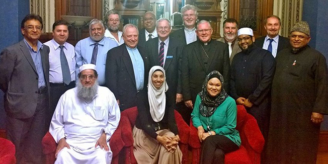 Interfaith meeting: Archbishop Mark Coleridge met with eight Islamic leaders and seven Heads of Churches at a meeting at Wynberg on October 20.