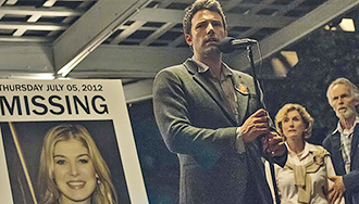 Shock value: Ben Affleck stars in a scene form the film Gone Girl. Photo: CNS