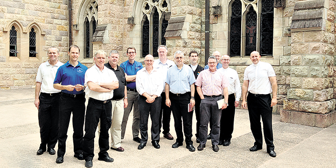 Wise guides: Vocation directors met in Brisbane recently at the National Diocesan Vocations Directors Conference.